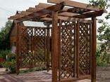 Деревянная Пергола Цена. Изготовление Деревянных Пергол - фото 3