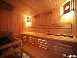 Деревянная вагонка ольха для бани.