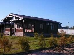 Деревянные дома из сухого профилированого бруса - фото 8
