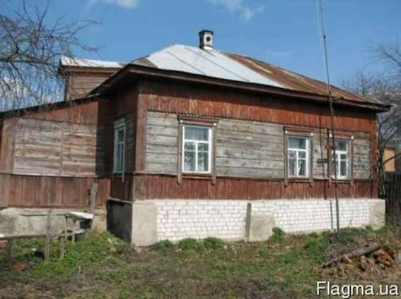 Деревянный дом - 60 м2, 4 комнаты. 1954г.