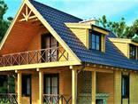 Деревянный дом из профилированного клееного бруса 8х11 м - фото 1