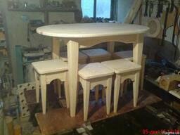 Деревянный кухонный набор