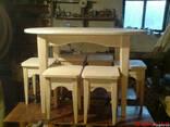 Деревянный кухонный набор - фото 2