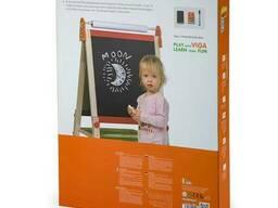 Деревянный мольберт Viga Toys двусторонний магнитный с бумагой (50952)