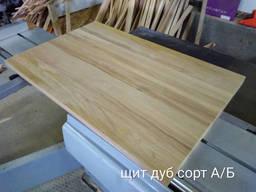 Деревянный щит дуб сорт А/В