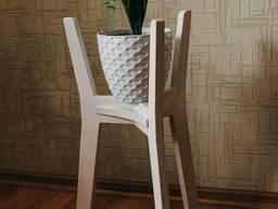 Деревянный стенд(кашпо) для горшков с растениями