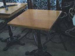 Деревянный стол б.у для кафе, бара, ресторана, кофейни, бист