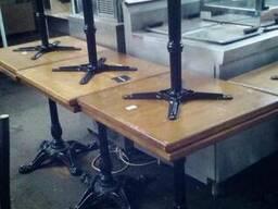 Деревянный стол б. у для кафе, бара, ресторана, кофейни, бист - фото 2