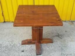 Деревянный стол для кафе, паба, бара