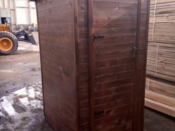 Деревянный туалет. Летняя душевая кабина. Кабина для душка. Туалет душ