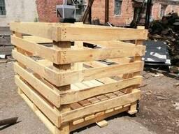 Деревянный ящик для овощей, контейнер для овощей и фруктов Л