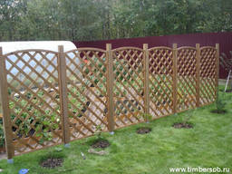 Деревянный забор , декоративный забор , ограждение , забор и