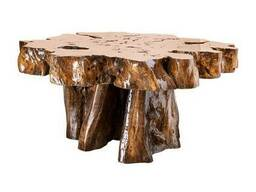 Деревянный журнальный столик класса премиум