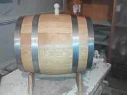 Деревянные бочки из дуба для вина и солений. - фото 2