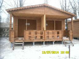 Строительство бани деревянной сборной
