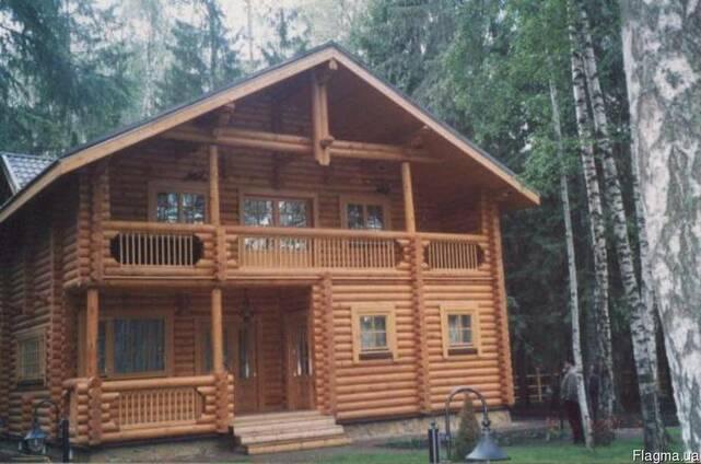 Деревянные дома, коттеджи, бани, беседки