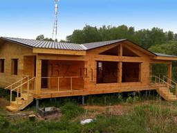 Деревянные дома в Крыму от производителя