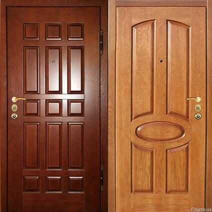 Деревянные двери из массива дуба