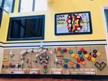 Деревянные игрушки образовательные таблицы stem-игрушки для детского сада игровой комнаты - фото 3