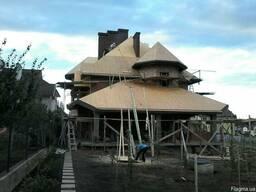 Деревянные конструкции под катепал