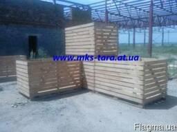 Деревянные контейнера для овощей и фруктов