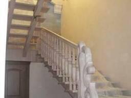 Деревянные лестницы на заказ - фото 4