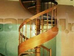 """Деревянные лестницы в частном доме """"Мечта"""""""