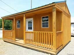 Деревянные летние домики, бытовки, сараи
