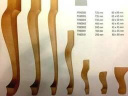 Деревянные ножки для столов,стульев.Ніжки кабріоль