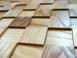 Деревянные панели 3 D из дуба и ясеня. Все оттенки.