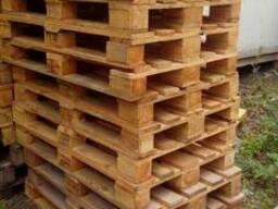 Деревянные поддоны 1200*800 1200*1000 - фото 1