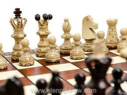 Деревянные польские шахматы опт Амбассадор арт. 2000 купить,