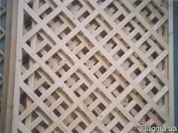 Деревянные решетки
