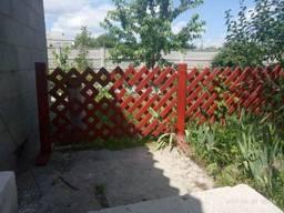 Деревянные заборчики для частного сектора, сада, клумбы - фото 2