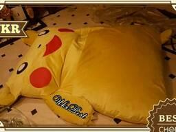Деровать Пикачу - мягкий диван в виде Покемона для подростка