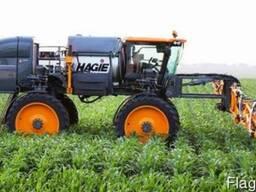 Десикация кукурузы и подсолнуха самоходным опрыскивателем