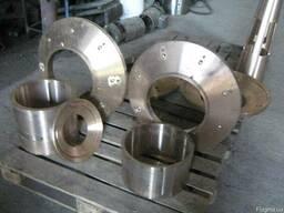 Запчасти из бронзы ОЦС555 на дробилки КМД/КСД-600, 900, 1200