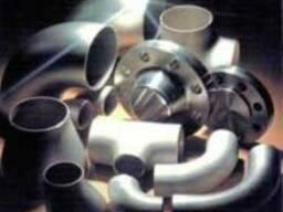 Детали трубопровода из нержавейки: фланцы, заглушки, отводы,