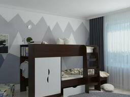 Детская двухъярусная кровать Фиеста