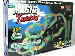 Детская гибкая игрушечная Дорога Magic Tracks 388 деталей. ..