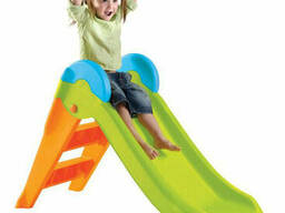 Детская горка Keter Boogie Slide ( Without Base ) Light-Green with Orange (. ..