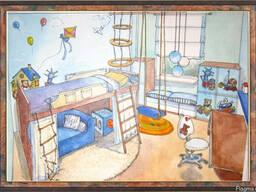 Детская и подростковая мебель на заказ. Мебель для детской