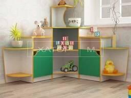 """Детская игровая мебель """"Уголок живой природы"""" угловой"""