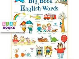 Детская книга Usborne Big Book of English Words