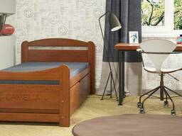 """Детская кровать из натурального дерева """"Лінарія"""""""
