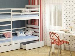 """Детская кровать """"Ларикс"""". Из натурального дерева"""