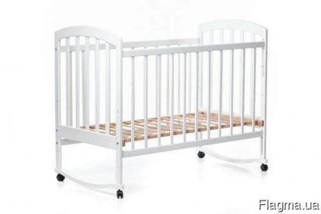 Детская кроватка, кровать качалка.