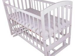 Детская кроватка Лама. Детская кровать поперечный маятник.