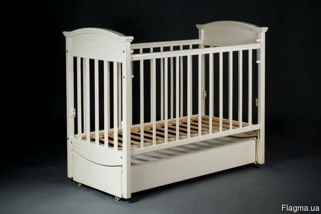 Детская кроватка Napoleon VIP. продольный маятник.