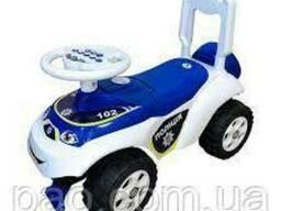 Детская машинка толокар, первая машина Автошка ТМ Doloni, Полиция